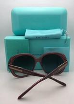New TIFFANY & CO. Sunglasses TF 4108-B 8193/9S Black on Blue Frame w/ Blue Fade