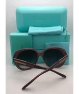 New TIFFANY & CO. Sunglasses TF 4108-B 8193/9S Black on Blue Frame w/ Bl... - $499.98
