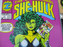 Marvel The Sensational She Hulk comic book lot Run 1 2 3 4 5 10 11 12 1st  - $31.24