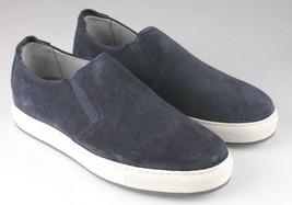 Neuf Hommes Strellson Bleu Cuir Daim Décontracté Chaussures 43 Eur 10 US 9 UK