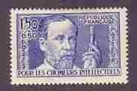 FRANCE 1936  # B53  VF H MEDICINE SCIENCE Louis Pasteur  032 -GL-A1B - $9.90