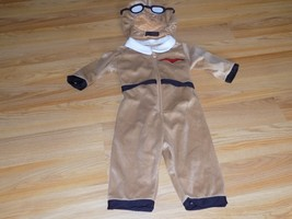 Infant Size 12-18 Months Disguise Aviator Airplane Pilot Halloween Costume - £21.23 GBP
