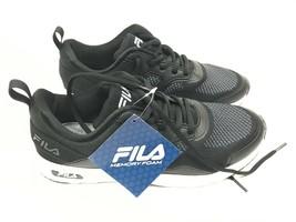New Women's FILA Frame V6 Sneaker Shoes Size 8 black Comfort memory foam - $22.52