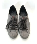 $750 Prada Gray Suede Lace Up Casual Sneakers Mens Size 9.5   11602 - $85.50