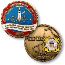 United States Coast Guard Sector Northern New England Challenge Coin    - $9.89