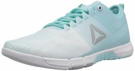 Reebok Women's CROSSFIT Grace Tr Cross Trainer Size 5 Blue Lagoon/White/Cool Sh - $96.77