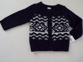 OshKosh B'Gosh Infant Girl Cardigan Sweater size 9M New - $12.86