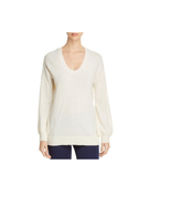 Michael Kors Women's Winter White Wool Long Sleeves Sweater Size Meduim ... - $27.22