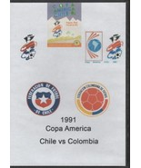 Copa America Chile vs Colombia 1991 DVD - $28.49