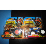 Hot Wheels Monster Trucks Tiger Shark Hot Wheels Racing - $11.75