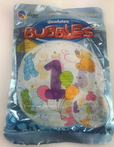 "Baby's First Birthday 1st 1 year + Stars Balloon  Qualatex 22"" Bubble Balloons - $7.11"