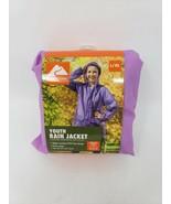 Ozark Trail Eva Lightweight Youth Rain Jacket - L/XL - Purple - New - $11.99