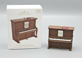 2012 Hallmark Keepsake Magic Ornament Piano Go Tell It On The Mountain w... - $17.95