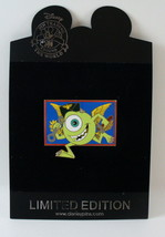 Disney Store Poster Series Monsters Inc Mike Wazowski Pin LE 250 - $37.95