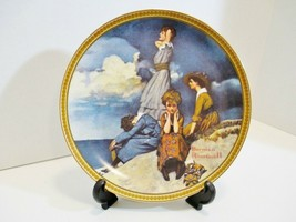 KNOWLES Rockwell Waiting on the Shore Collector Plate Rediscovered Women... - $15.60