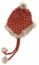 Bench Hough Red Beanie w Tassels Faux Fur Winter Ski Hat BLWA0346 NWT image 2