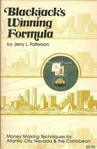 Blackjack's Winning Formula Jerry Patterson PB 1981 Card Game - $4.90