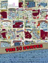 Anita Goodesign The 50 States Individual State (CD Only) - $12.99