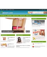 Weight Loss Niche Website Blog Wordpress | Free Ebay Amazon Clickbank Bu... - $5.99