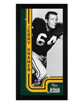 "Jerry Kramer Green Bay Packers - 6.75"" x 13"" Miniframed Photo Montage - $38.95"