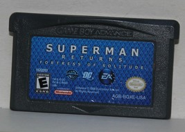 Superman Returns Fortress Of Solitude Gameboy Advance GBA EA Games DC WB - $11.64