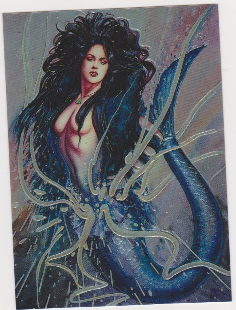1994 Best of Olivia Promo Card