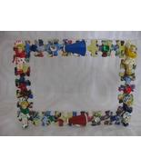 CHEERLEADER PICTURE FRAME PUZZLE PIECES & GIRLS-shlf - $14.47