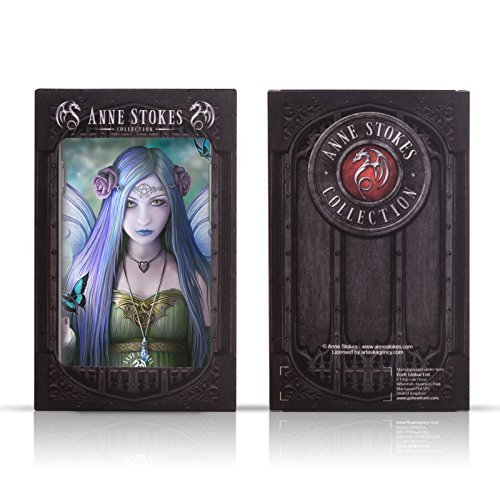 Official Anne Stokes Full Raven Soft Gel Case Compatible for HTC One M9+