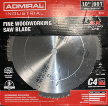 "10"" 60T Finishing Circular Saw Blade Wood Melamine Plastic Veneer Sharp ... - $15.00"