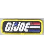 G.I. Joe Name Logo Dress Uniform Embroidered Patch, NEW UNUSED - $7.84