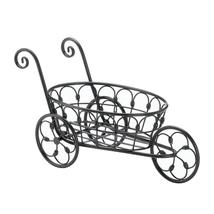 Black Iron Flower Cart - $34.95