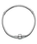 Bracelet Snake Chain, 4mm, 925 Sterling Silver, Fitted - $18.00