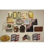 Lot of US Olympic Team USA Soccer Winter Olympic Enamel Lapel Pins - $84.15