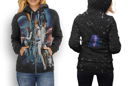 hoodie women zipper Star Trek New - $48.55+