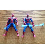 Spider-Man Figures Web Battler Squeeze Legs Staff Spinner - $10.70