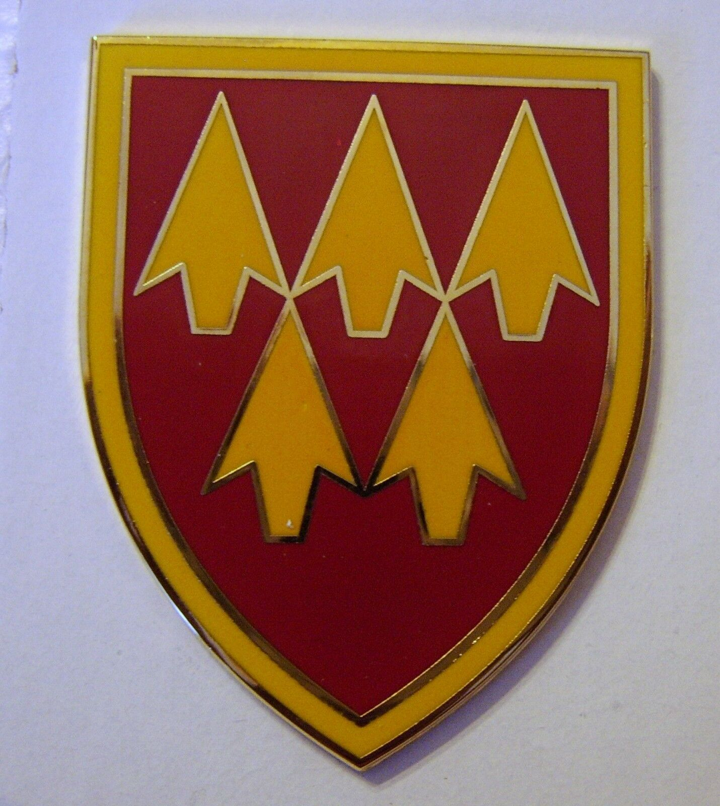 32nd ARMY AIR & MISSILE DEFENSE CMD-COMBAT SERVICE IDENTIFICATION BADGE:NY14 - $13.95