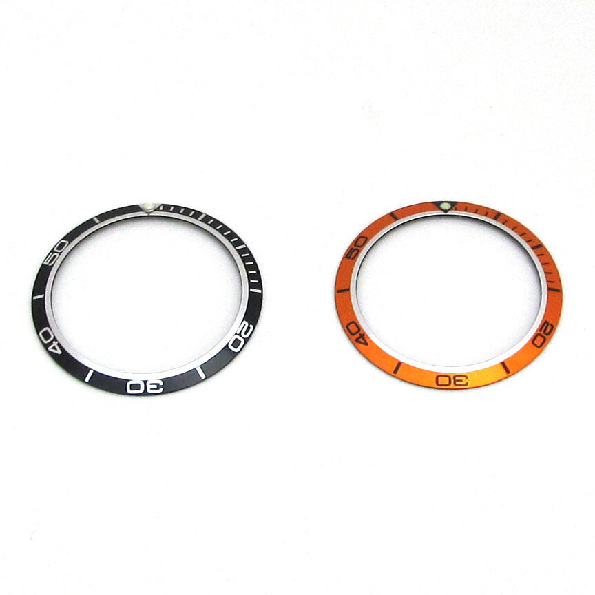 Primary image for New Bezel Insert For OMEGA PLANET OCEAN Watch Dial Replacement Part Orange/Black