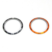 New Bezel Insert For OMEGA PLANET OCEAN Watch Dial Replacement Part Oran... - $22.36