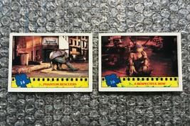 1990 Topps Teenage Mutant Ninja Turtles TMNT Movie Trading Cards Lot: #14 & #16 - $3.13