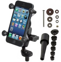 RAM Mount Motorcycle Fork Stem Mount X-Grip Cell Phone Holder fits iPhon... - $52.96