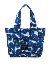 Marc Jacobs New York M0013282 Floral Nylon Tote Blue Multi MSRP $225 - $130.90