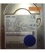 1.6GB 2.5in 17MM IDE 44PIN Drive IBM DCRA-21650 Tested Free USA Ship - $19.55