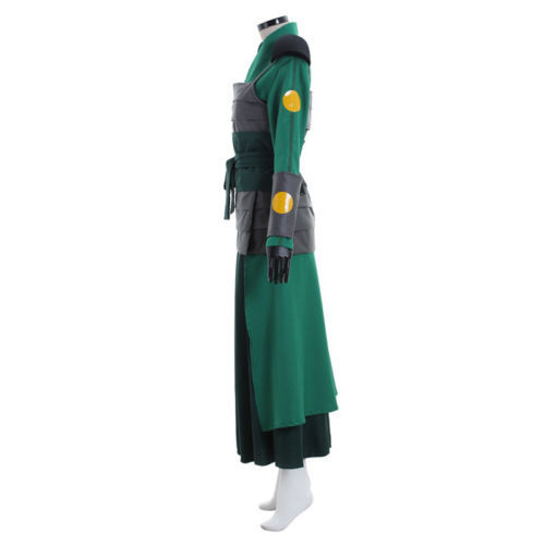 Avatar The Last Airbender Kyoshi Warriorsm Cosplay Costume Green Kimono Clothes