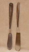 Oneida Community Twin Star Stainless Master Butter Dish Knife & Bonus Sp... - $8.90
