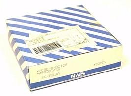 BOX OF 20 NEW MATSUSHITA NAIS HC2E-H-DC12V POWER RELAYS AP322144K, 12VDC, 3A