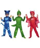 Disguise PJ Masks Catboy Gekko Owlette Classic Kids Toddler Halloween Co... - $37.15+