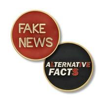 "FAKE NEWS ALTERNATIVE FACTS 1.75"" CHALLENGE COIN - $18.04"