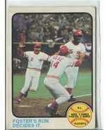 NL PLAYOFF 1973 Topps #202 (VG-EX) Cincinnati Reds Vintage Baseball Spor... - $1.99