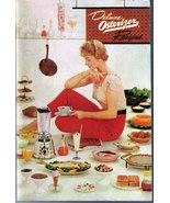 DELUXE OSTERIZER Blender User and Recipes Book 1955 SC - $9.99