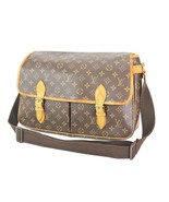 Authentic LOUIS VUITTON Sac Gibeciere GM Monogram Shoulder Messenger Bag... - $299.00
